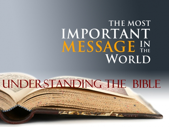 Understanding the Holy Bible : Introduction