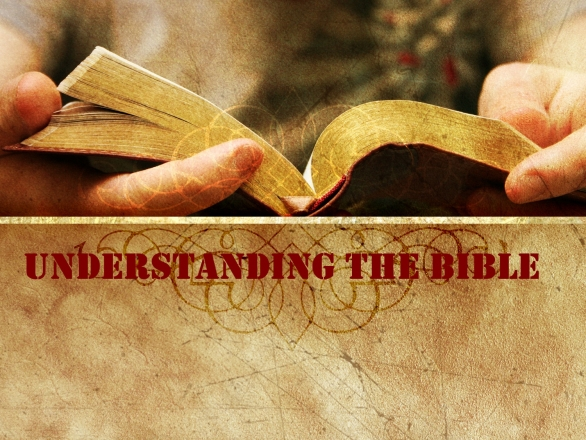 Understanding the Holy Bible : Chapter One